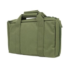 DISCRETE DOUBLE PISTOL CASE - GREEN