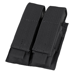 DOUBLE PISTOL MAG POUCH - BLACK