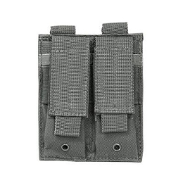 DOUBLE PISTOL MAG POUCH - URBAN GRAY