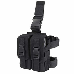 DROP LEG AR / M4 MAGAZINE RIG - BLACK