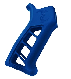 ENFORCER AR PISTOL GRIP - BLUE ALUMINUM