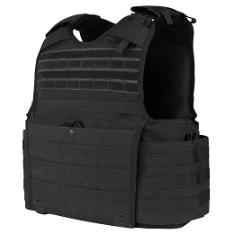 ENFORCER RELEASABLE PLATE CARRIER - BLACK