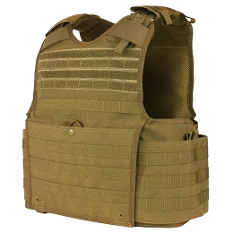 ENFORCER RELEASABLE PLATE CARRIER - COYOTE BROWN