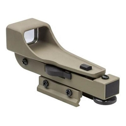 GEN 2 DP RED DOT REFLEX SIGHT, ALUMINUM, WEAVER MOUNT - TAN