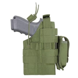 GLOCK AMBIDEXTROUS MODULAR MOLLE HOLSTER - OLIVE DRAB