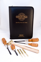 GRACE USA 17 PIECE GUN CARE TOOL KIT - SCREWDRIVERS, PUNCHES, HAMMER