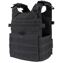 GUNNER QUICK RELEASE PLATE CARRIER - BLACK