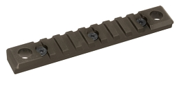KEYMOD QD PICATINNY RAIL - 9 SLOT - FLAT DARK EARTH