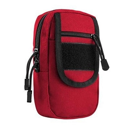 LARGE UTILITY POUCH - RED