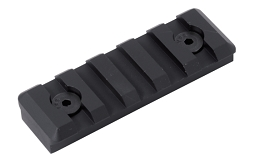 M-LOK PICATINNY RAIL - 5 SLOT - BLACK