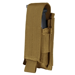 SINGLE PISTOL MAG POUCH - COYOTE BROWN