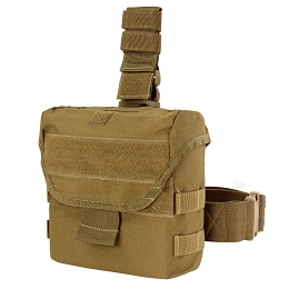DROP LEG DUMP POUCH - COYOTE BROWN