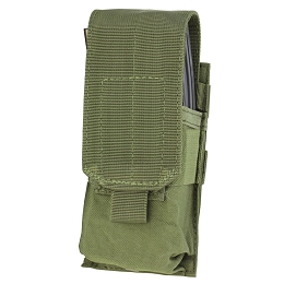 AR / M4 SINGLE STACKER MAG POUCH - OLIVE DRAB