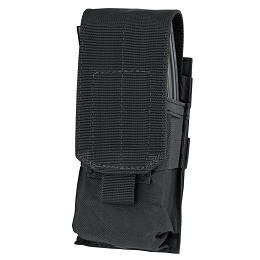 AR / M4 SINGLE STACKER MAG POUCH - BLACK