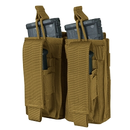 DOUBLE KANGAROO MAG POUCH - COYOTE BROWN