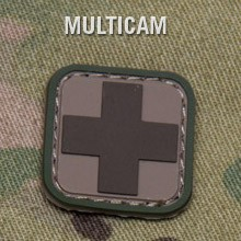 MEDIC SQUARE 1'' PVC PATCH - MULTICAM