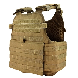 MODULAR OPERATOR PLATE CARRIER - COYOTE BROWN