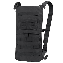 OASIS HYDRATION CARRIER & 2.5 LITRE WATER BLADDER - BLACK