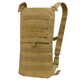 OASIS HYDRATION CARRIER & 2.5 LITRE WATER BLADDER - COYOTE BROWN