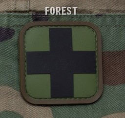 MEDIC SQUARE 2'' PVC PATCH - FOREST