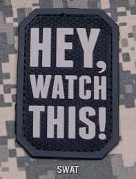 HEY WATCH THIS PVC PATCH - SWAT