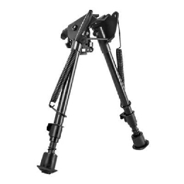 PRECISION GRADE BIPOD, FULL-SIZE, NOTCHED - 3 MOUNT ADAPTERS