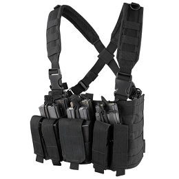 RECON CHEST RIG - BLACK