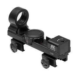 RED & GREEN DOT REFLEX SIGHT - WEAVER & 3/8