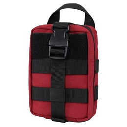 RIP-AWAY EMT LITE POUCH - RED / BLACK