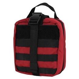 RIP-AWAY EMT POUCH - RED / BLACK