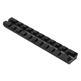 RUGER 10/22 PICATINNY RECEIVER MOUNT - BLACK V2