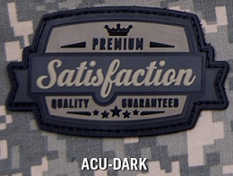 SATISFACTION PVC PATCH - ACU-DARK