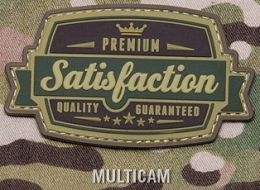 SATISFACTION PVC PATCH - MULTICAM