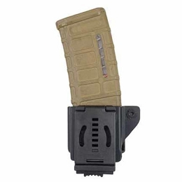 SINGLE KYDEX AR 5.56/.223 MAGAZINE POUCH - PUSH-BUTTON LOCKING MOUNT - COMP-TAC