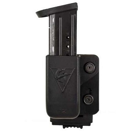SINGLE KYDEX MAGAZINE POUCH - PUSH-BUTTON LOCKING MOUNT - COMP-TAC