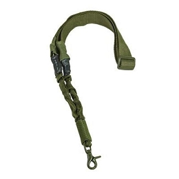 SINGLE POINT BUNGEE SLING - GREEN