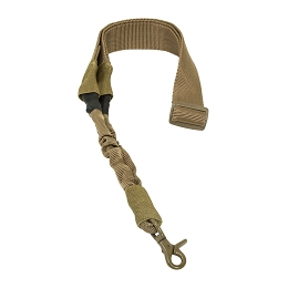 SINGLE POINT BUNGEE SLING - TAN