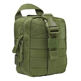 SMALL MOLLE EMT POUCH - GREEN
