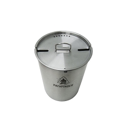 STAINLESS STEEL 48 OZ (1.42 LITRES) CUP AND LID SET - PATHFINDER