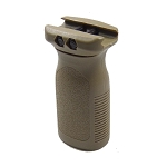 STUBBY VERTICAL FOREGRIP - WEAVER/PICATINNY MOUNT - DARK EARTH