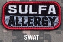 SULFA ALLERGY PATCH - SWAT