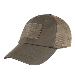 TACTICAL CAP, MESH BACK - BROWN