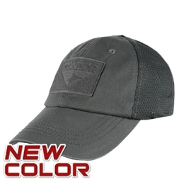 TACTICAL CAP, MESH BACK - GRAPHITE