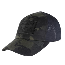 TACTICAL CAP, MESH BACK - MULTICAM BLACK