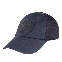 TACTICAL CAP, MESH BACK - NAVY BLUE