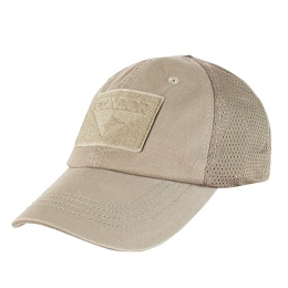 TACTICAL CAP, MESH BACK - TAN
