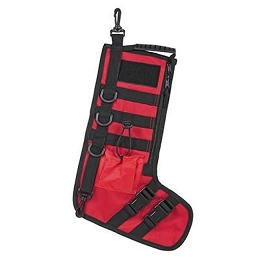TACTICAL CHRISTMAS STOCKING - RED