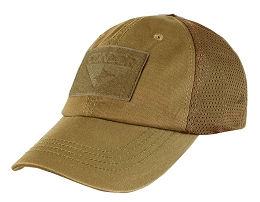 TACTICAL CAP, MESH BACK - COYOTE BROWN