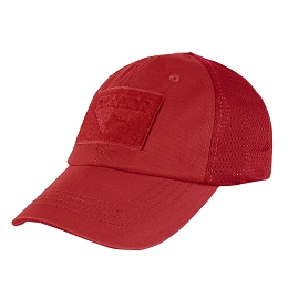 TACTICAL CAP, MESH BACK - RED