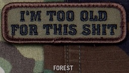 TOO OLD EMB MORALE PATCH - FOREST